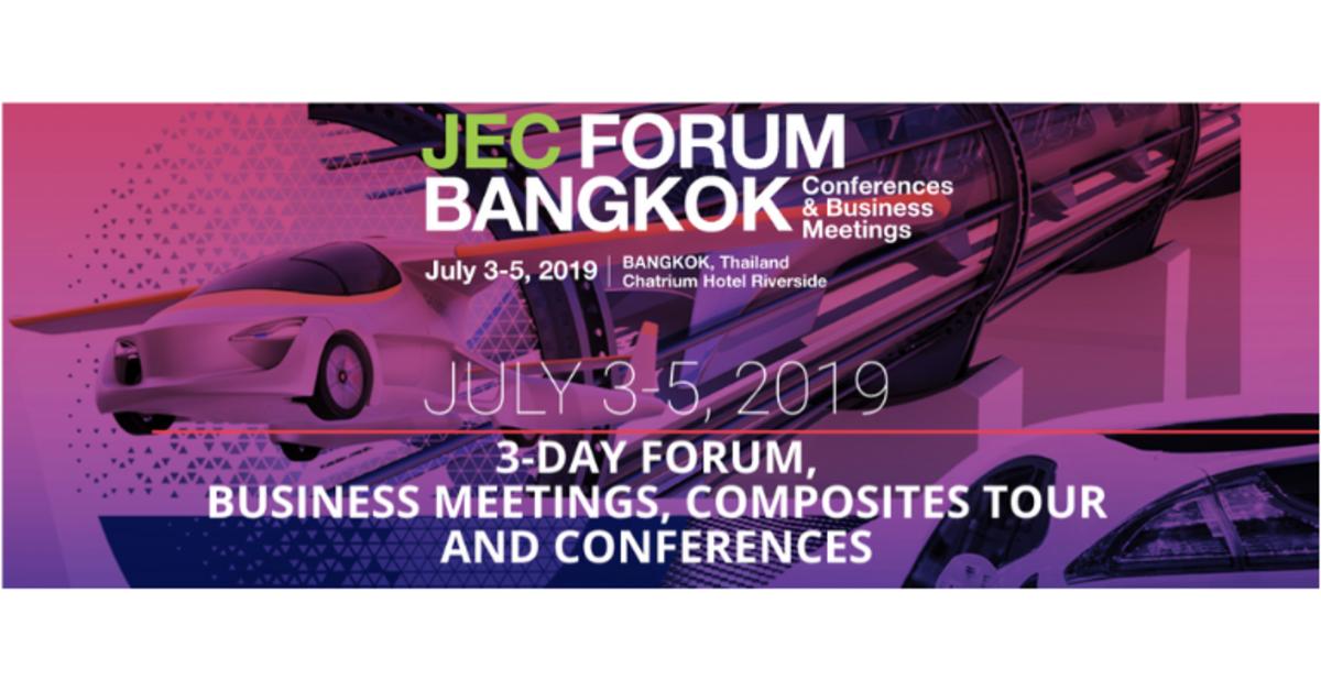 JEC Forum Bangkok | July 3-5, 2019 | Franco-thaï Chamber of